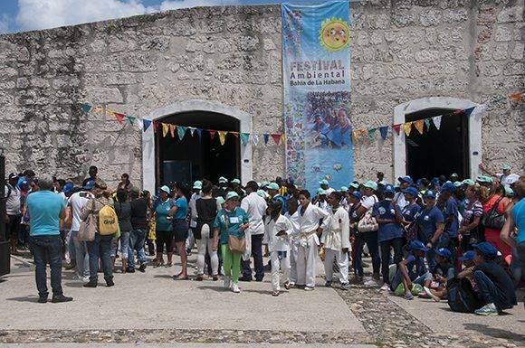 Primer Festival Ambiental Bahía de la Habana tiene lugar en el complejo militar Morro-Cabaña. Foto: Ladyrene Pérez/ Cubadebate.