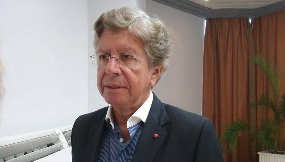 El señor Arturo García Rosa, Presidente de SAHIC afirmó que de sus potencialidades turisticas Cuba solo está mostrando la punta del Iceberg. Foto: Susana Tesoro/ Cubadebate.
