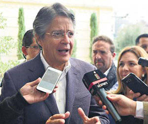 Guillermo Lasso. Foto: AFP.