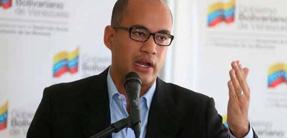 Héctor Rodríguez, líder del Bloque de la Patria en la Asamblea Nacional de Venezuela. Foto tomada de El Universal.
