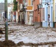 Las lluvias son una de las más intensas en los últimos años.