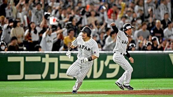 Y Japón volvió a empatar. Juego de infarto en el Tokyo Dome. Foto: @WBCBaseball/ Twitter.