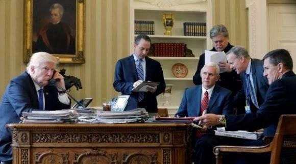 Presidentes de Estados Unidos y Rusia realizan su primer contacto telefónico. Foto: Archivo.