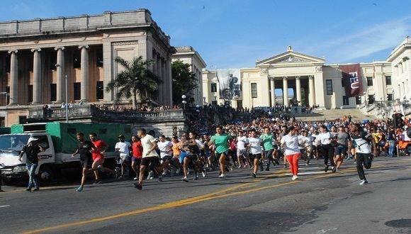 Maratón 13 de marzo. Foto: Tomada de Radio Reloj