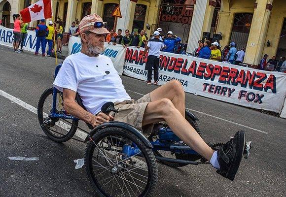Celebrará Cuba carrera Terry Fox el próximo sábado