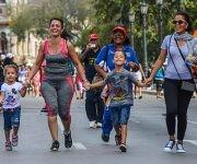 Edición XX del Maratón de la Esperanza Terry Fox, en homenaje al joven canadiense convertido en símbolo de lucha contra el cáncer, en La Habana, el 18 de marzo de 2017.   ACN  FOTO/ Marcelino VÁZQUEZ HERNÁNDEZ/ rrcc