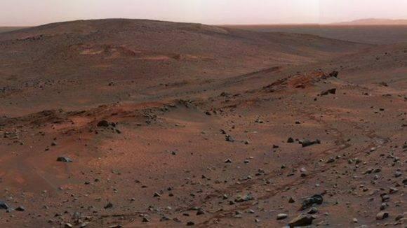 La falta de atmósfera hace que la temperatura en Marte pueda pasar de 20 grados diurnos a 80 grados bajo cero durante la noche. Foto: NASA.