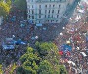 Protestas en Argentina. Foto: Página 12.