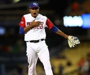 Edwin Díaz lanzó los últimos innings de manera estelar. Foto: WBCBaseball/ Twitter.