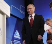 El presidente ruso, Vladimir Putin durante la cumbre del Ártico en Finlandia. Foto: TASS.