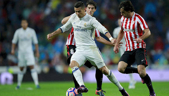 Real Madrid vs Athletic. Foto: EFE.