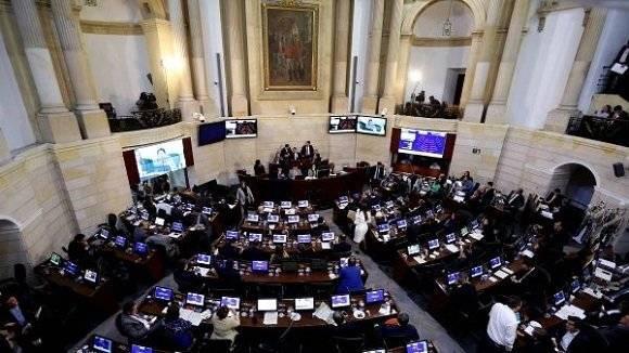 Senado de Colombia. Foto: EFE.