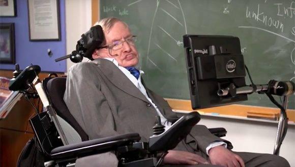 Stephen Hawking anuncia que viajará al cosmos. Foto: Agencias.