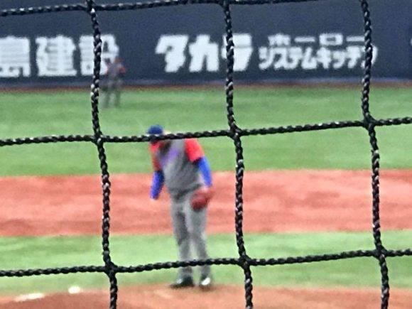 Cuba vs Búfalos de Orix. Foto: Tomada de la cuenta de Facebook de Carlos Miguel Pereira, Embajador de Cuba en Japón