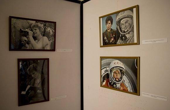 Inaugurada Exposición Fotográfica de Valentina Tereshkova, primera mujer cosmonauta del mundo. Foto: Ismael Francisco/Cubadebate.