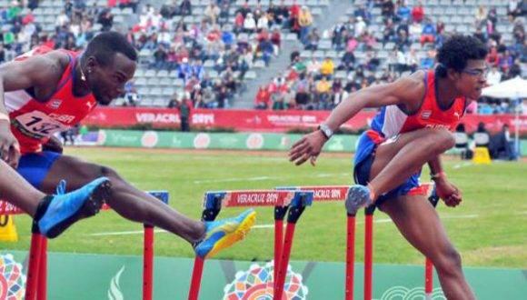 O'Farrill (derecha) y Portilla persiguen objetivos similares de frisar los 13 segundos. Foto: Ricardo López Hevia.
