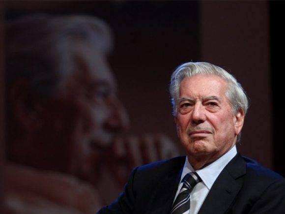 El Nobel de Literatura, Mario Vargas Llosa. Foto: EFE.