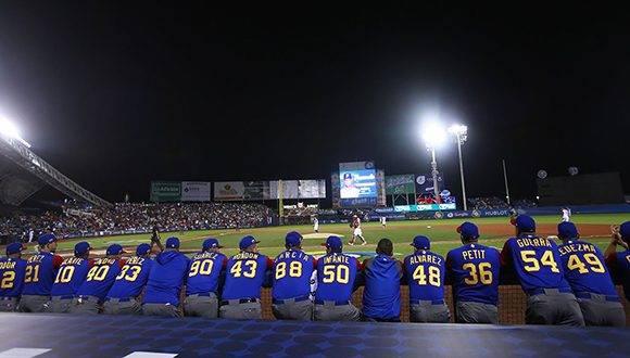 Doloroso inicio para los venezolanos en el IV Clásico Mundial. Foto: @Cut4.
