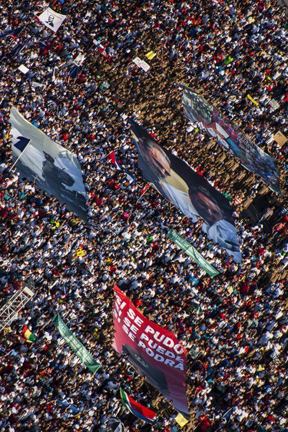 El pueblo cubano dedica este Primero de Mayo a Fidel. Foto: L Eduardo Domínguez/ Cubadebate.