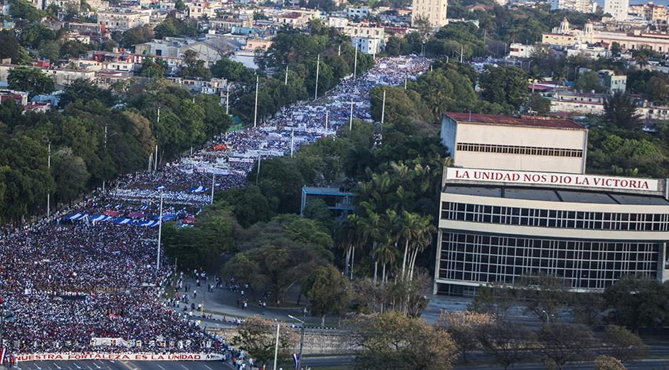 Toda Cuba celebra el Primero de Mayo (+ Fotos)