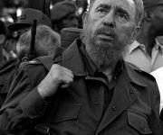 En el acto por el XL Aniversario de la Proclamación del Carácter Socialista de la Revolución y Día del Miliciano. Autor: Liborio Noval. Fecha: 16/04/2001