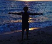 Amanecer en Playa Managua, Baracoa. Foto: Félix Morris Martínez / Cubadebate