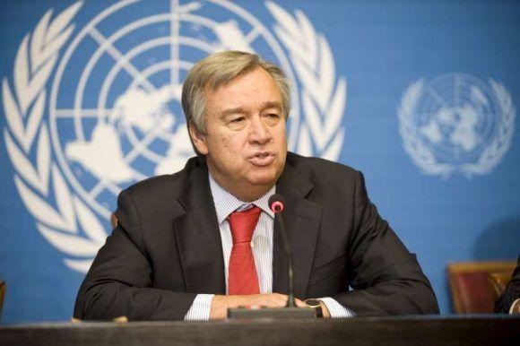 Antonio Guterres. Foto: Archivo.