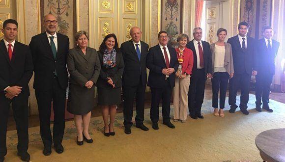 Canciller De Portugal Recibe A Ministro De Relaciones Exteriores De Cuba Cubadebate