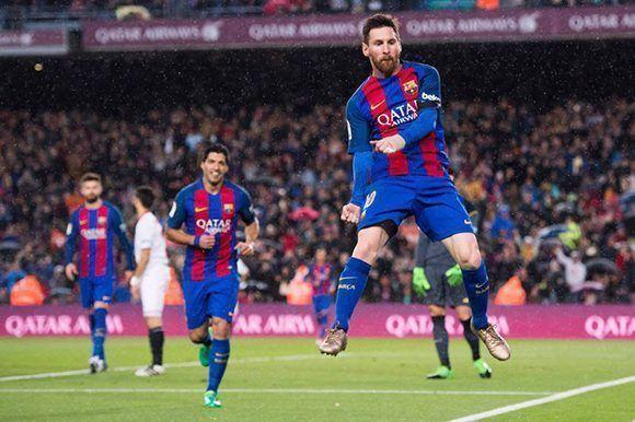 Messi regresó a los terrenos de juego y marcó doblete. Foto: Getty Images.