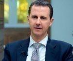 El presidente de Siria, Bashar al Asad concedió una entrevista a la agencia AFP. Foto: AFP.
