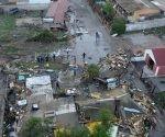 Vista áerea de los daños producidos por el terremoto en Chile. Foto: El Nuevo Herald