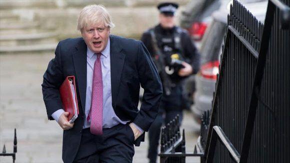 El canciller de Reino Unido, Boris Johnson. Foto: La Verdad Oculta.