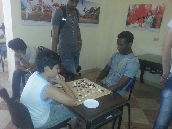 Certamen organizado por la Academia Cubana de Go. Foto tomada del perfil en Facebook de la academia.