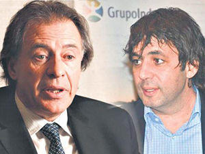 Cristóbal López y su socio Fabián De Sousa, procesados por alquilar. Foto: Página 12.