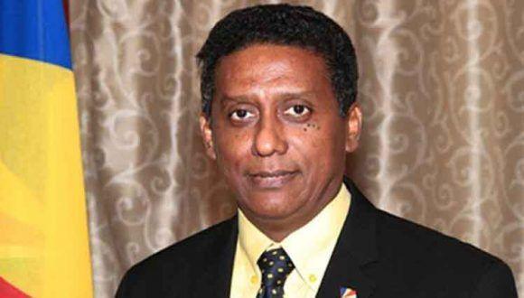 Danny Faure, presidente de Seychelles. Foto: Tomada de ACN