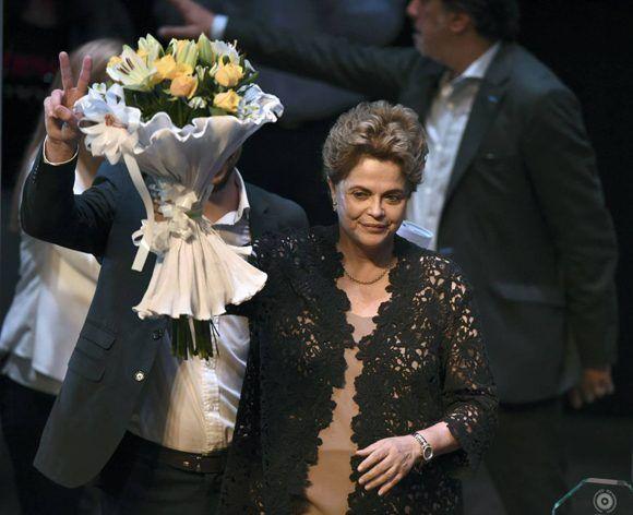 Dilma Rousseff confía en que Lula da Silva sea elegido como nuevo presidente de Brasil. Foto: AFP.