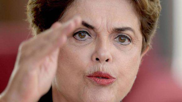Dilma denuncia la campaña mediática contra ella y Lula. Foto: Atlas.