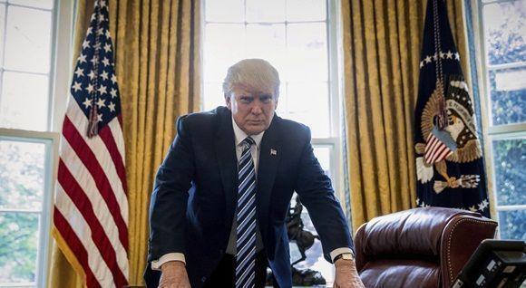 Trump cumple cien días en la Casa Blanca