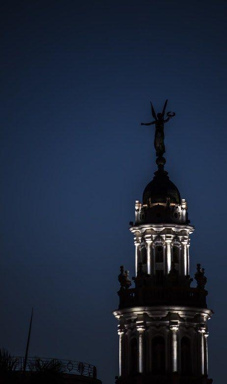 El último ángel del Gran Teatro. Foto: L Eduardo Domínguez/ Cubadebate.