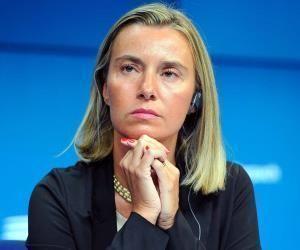 La Alta Representante de Política Exterior y Seguridad Común de la Unión Europea, Federica Mogherini. Foto: Archivo.