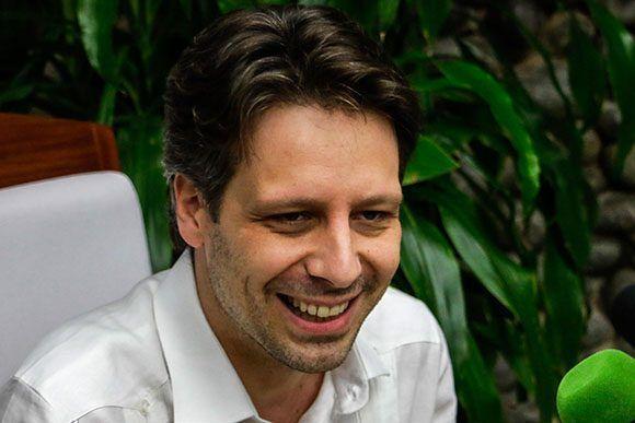 Guillaume Long, Ministerio de Relaciones Exteriores y Movilidad Humana del Ecuador. Foto: ACN/ Abel Padrón.