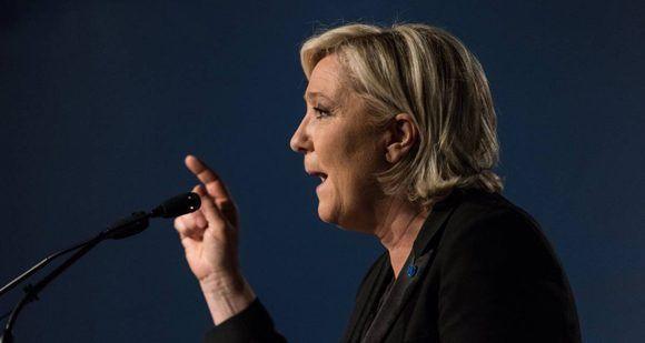Le Pen no tiene opciones frente a Macron, según las encuestas. Foto: EFE.