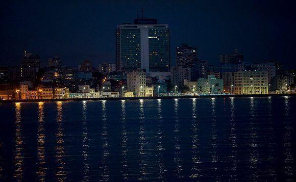 Las luces de La Habana. Ismael Francisco/ Cubadebate.