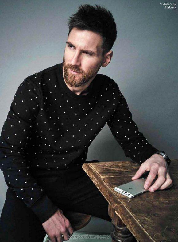 Lionel Messi posa para Esquire México.