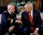 Militares retirados enviaron una carta al asesor de Seguridad Nacional de Donald Trump, General H. R. McMaster. Foto: Reuters