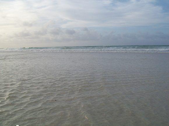 Mar revuelto en Boca Ciega. Foto: Noel Farfán Saavedra / Cubadebate