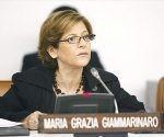Se prevé que al concluir su visita, el próximo 14 de abril, Giammarinaro ofrezca una conferencia de prensa