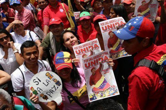Todos y todas a la Avenida Bolívar, con disciplina chavista, en apoyo al Presidente Nicolás Maduro