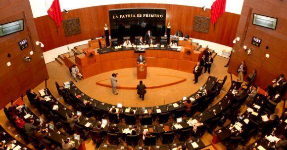 Senado mexicano. Foto tomada de Presencia Noticias.