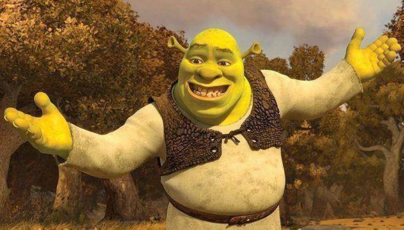 Shrek, protagonista de una franquicia de filmes. Foto tomada de MeriStation.com.